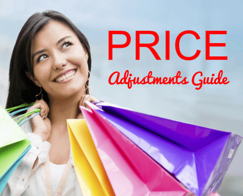 Price Adjustment Guide